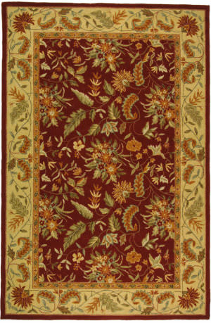 Safavieh Chelsea HK141C Red Area Rug