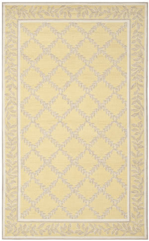 Safavieh Chelsea Hk230y Yellow / Grey Area Rug