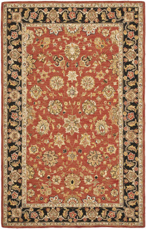 Safavieh Chelsea HK505C Rose / Black Area Rug