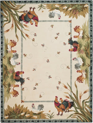 Rooster Area Rug At Studio