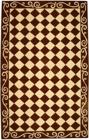 Safavieh Chelsea HK711B Brown / Ivory Area Rug