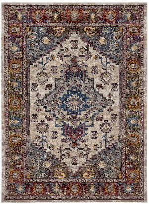 Safavieh Harmony Hmy404b Light Grey - Rose Area Rug