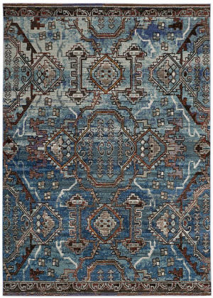 Safavieh Harmony Hmy406f Blue - Light Blue Area Rug