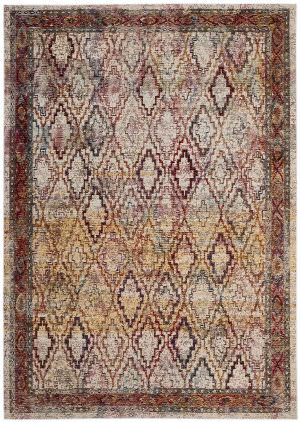 Safavieh Harmony Hmy407b Cream - Rose Area Rug
