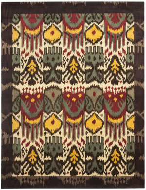 Safavieh Ikat IKT217A Creme / Brown Area Rug