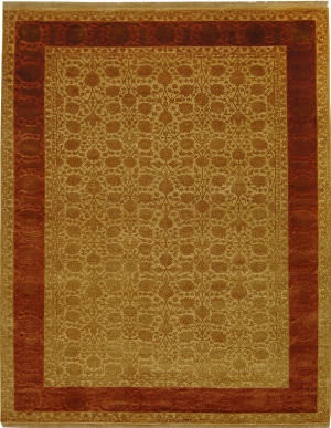Safavieh Jewel Of India Jwl599b Light Gold - Cinnamon Area Rug