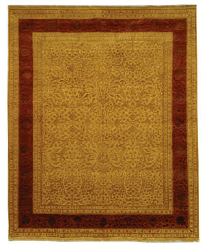 Safavieh Jewel Of India Jwl607b Ivory - Cinnamon Area Rug