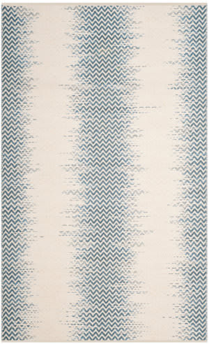 Safavieh Cotton Kilim Klc121a Blue - Ivory Area Rug