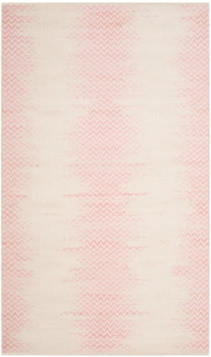 Safavieh Cotton Kilim Klc121e Light Pink - Ivory Area Rug