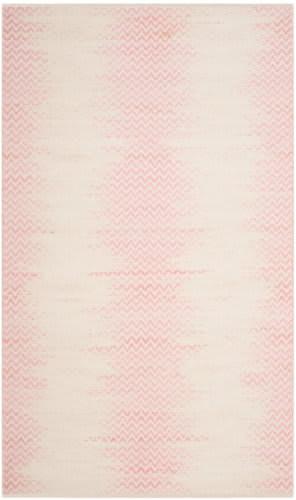 Safavieh Cotton Kilim Klc121e Light Pink - Ivory Area Rug