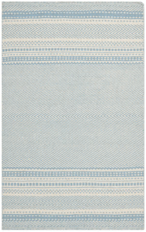 Safavieh Kilim Klm419a Light Blue / Ivory Area Rug
