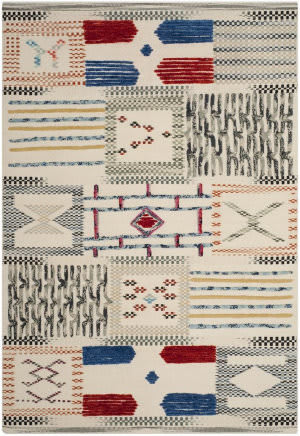 Safavieh Kilim Klm824a Ivory - Multi Area Rug