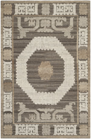 Safavieh Kenya Kny313a Ivory / Brown Area Rug