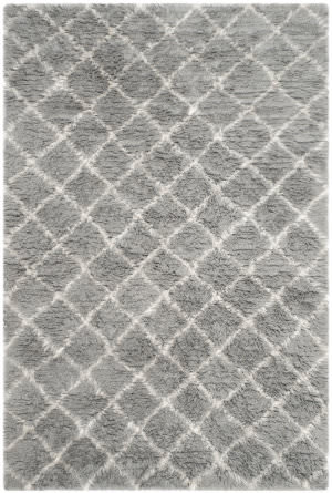 Safavieh Kenya Kny404e Light Grey - Ivory Area Rug