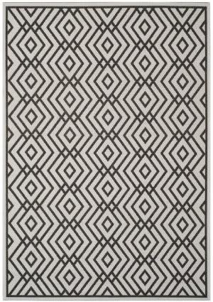 Safavieh Linden Lnd126a Light Grey - Charcoal Area Rug
