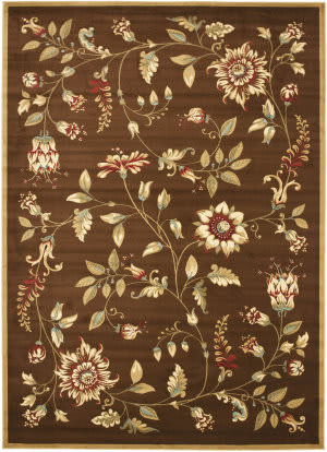 Safavieh Lyndhurst Lnh552 Brown / Multi Area Rug
