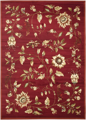 Safavieh Lyndhurst Lnh552 Red / Multi Area Rug