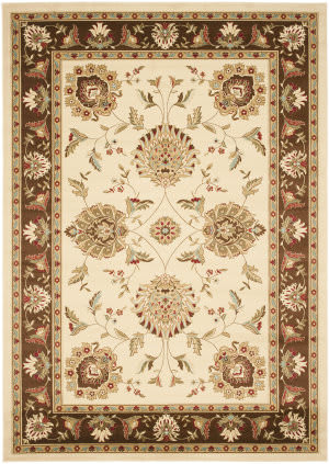Safavieh Lyndhurst Lnh555 Ivory / Brown Area Rug