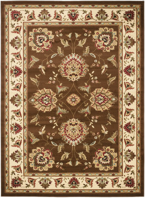 Safavieh Lyndhurst Lnh555 Brown / Ivory Area Rug
