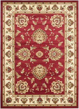 Safavieh Lyndhurst Lnh555 Red / Ivory Area Rug