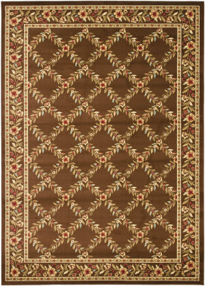 Safavieh Lyndhurst Lnh557 Brown / Brown Area Rug