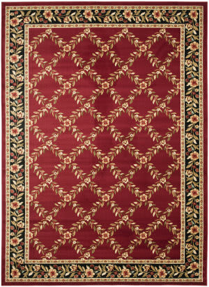 Safavieh Lyndhurst Lnh557 Red / Black Area Rug