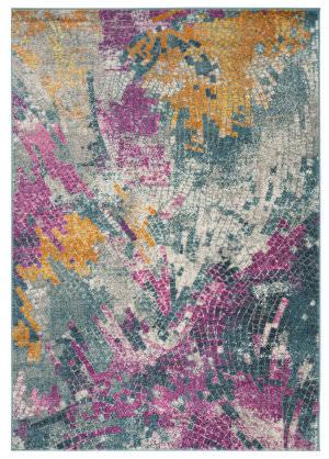 Safavieh Madison Mad201m Blue - Multi Area Rug