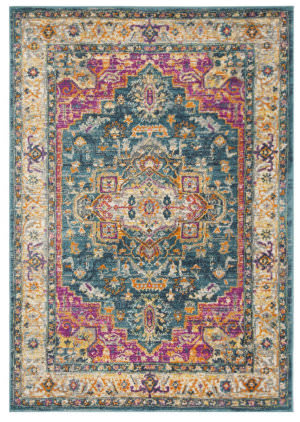 Safavieh Madison Mad202m Blue - Multi Area Rug