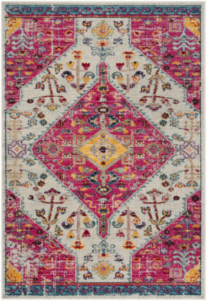 Safavieh Madison Mad301a Cream - Pink Area Rug