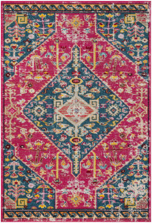 Safavieh Madison Mad301u Pink - Turquoise Area Rug