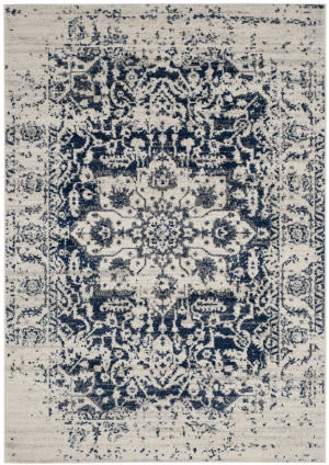 Safavieh Madison Mad603d Cream - Navy Area Rug