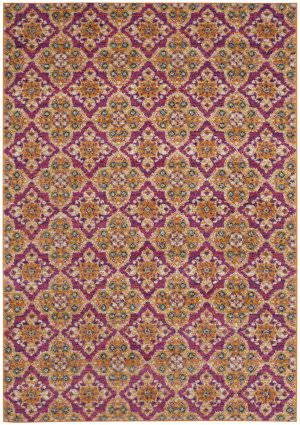 Safavieh Madison Mad605a Fuchsia - Gold Area Rug