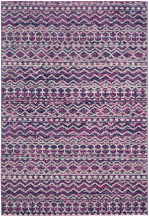Safavieh Madison Mad606m Fuchsia - Navy Area Rug