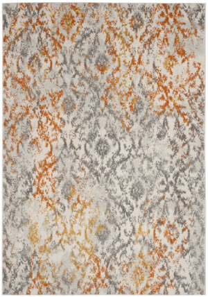 Safavieh Madison Mad608k Cream - Orange Area Rug