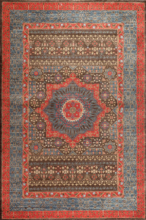 Safavieh Mahal Mah620c Navy - Red Area Rug