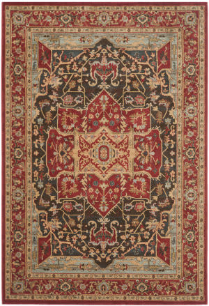 Safavieh Mahal Mah625d Red Area Rug
