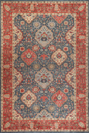 Safavieh Mahal Mah655c Navy - Red Area Rug