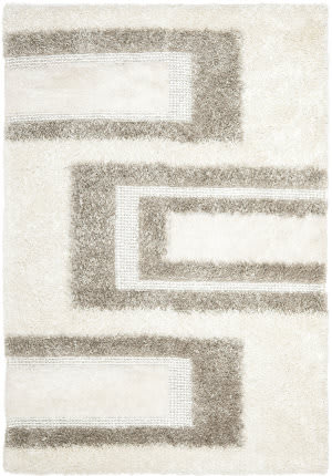 Safavieh Manhattan MAN522A White / Grey Area Rug