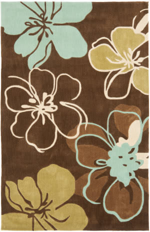 Safavieh Modern Art Mda611a Brown / Multi Area Rug