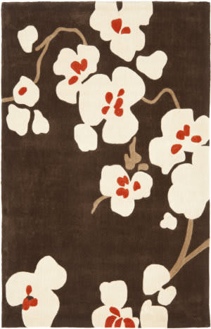 Safavieh Modern Art Mda614a Brown / Ivory Area Rug
