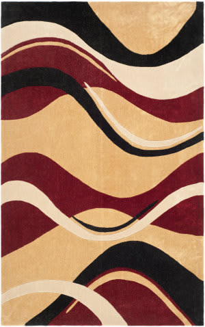 Safavieh Modern Art Mda617b Rust / Ivory Area Rug