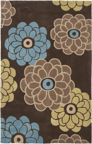 Safavieh Modern Art Mda620b Brown / Multi Area Rug