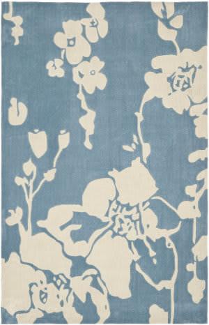 Safavieh Modern Art Mda621a Blue / Ivory Area Rug