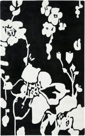 Safavieh Modern Art Mda621b Black / Ivory Area Rug
