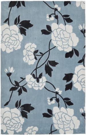 Safavieh Modern Art Mda622a Blue / Ivory Area Rug