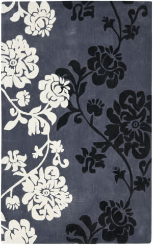 Safavieh Modern Art Mda623a Dark Grey / Multi Area Rug