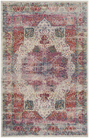 Safavieh Merlot Mer121a Cream - Multi Area Rug