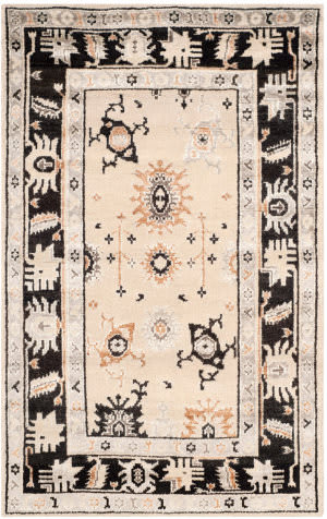 Safavieh Moharaja Mhj254a Beige - Charcoal Area Rug