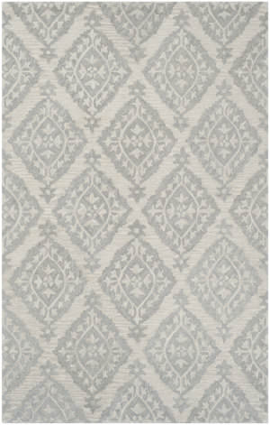 Safavieh Micro-Loop Mlp210a Light Grey Area Rug