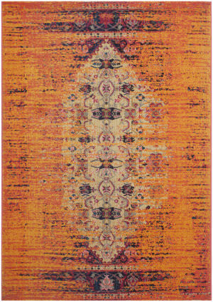 Safavieh Monaco Mnc209h Orange - Multi Area Rug